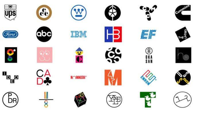 Logotipos de paul rand