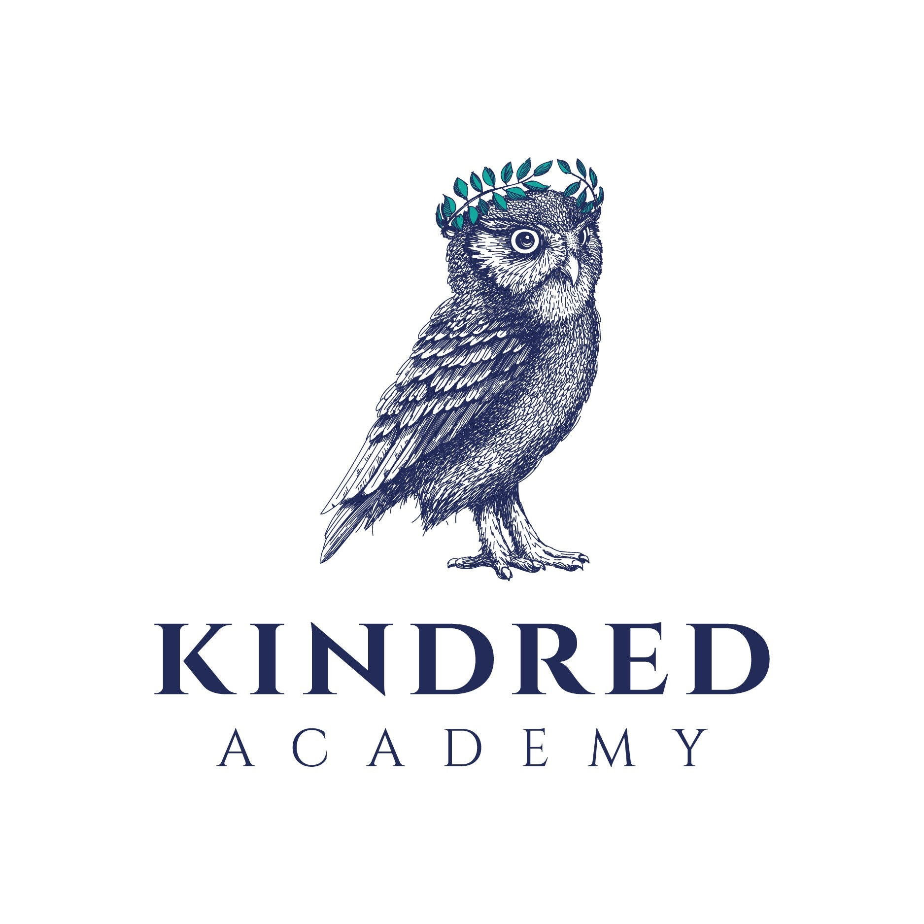 Kindred academy owl logo