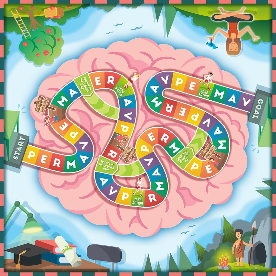 The brain as a board game.