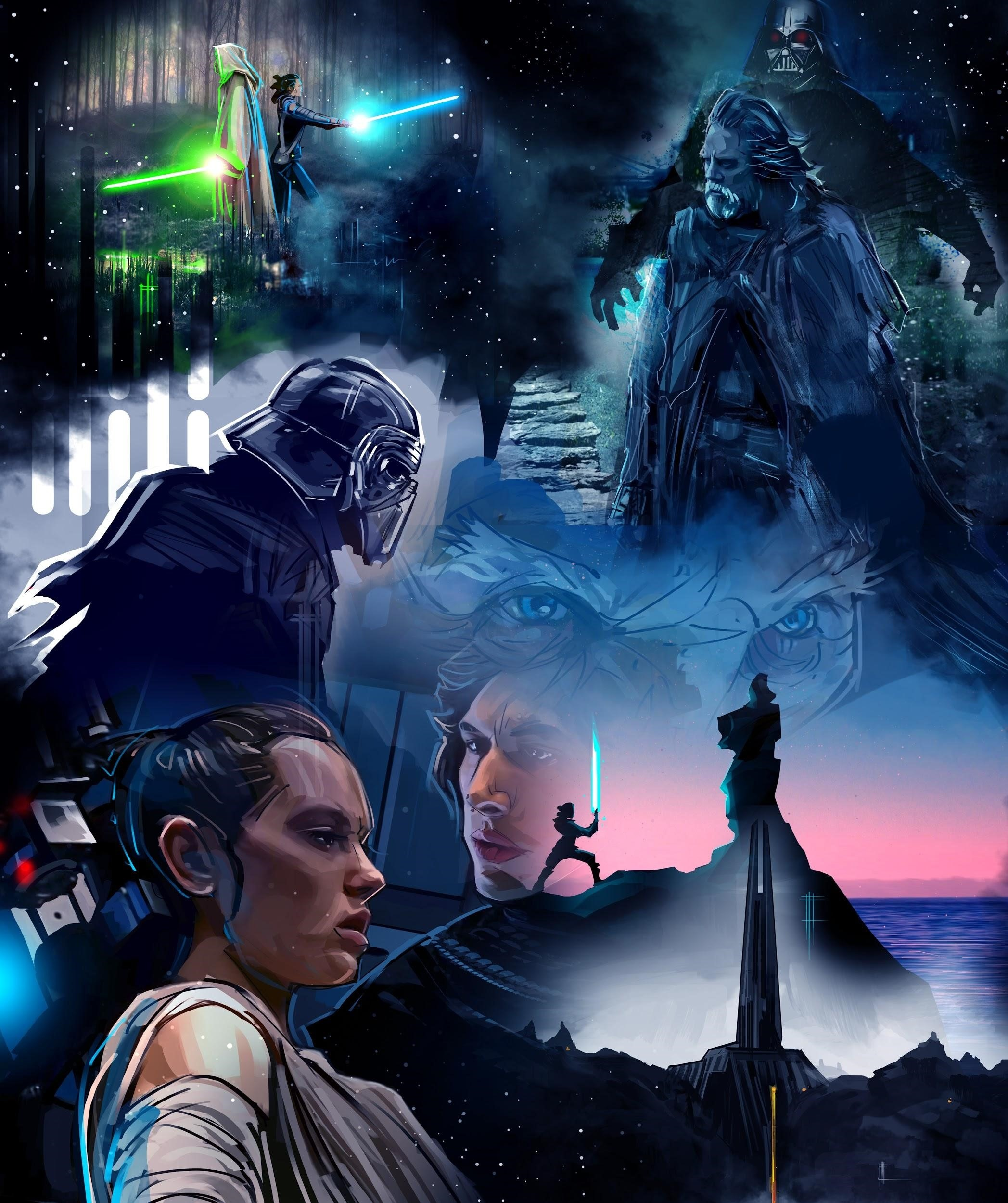 Venamis star wars illustration