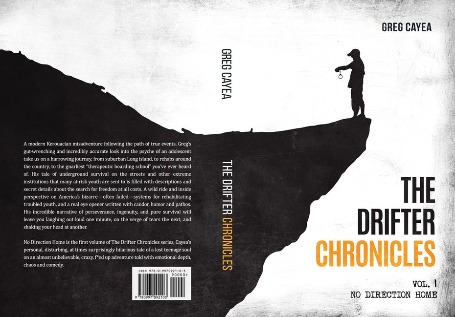 book cover for The drifter chronicles