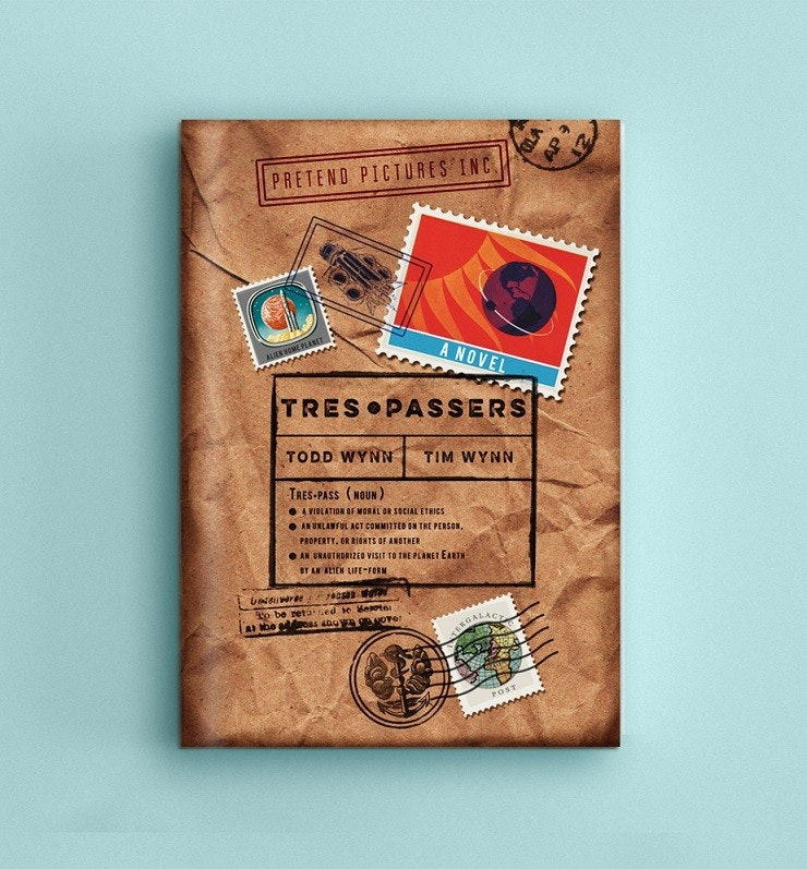 book cover for Trespassers
