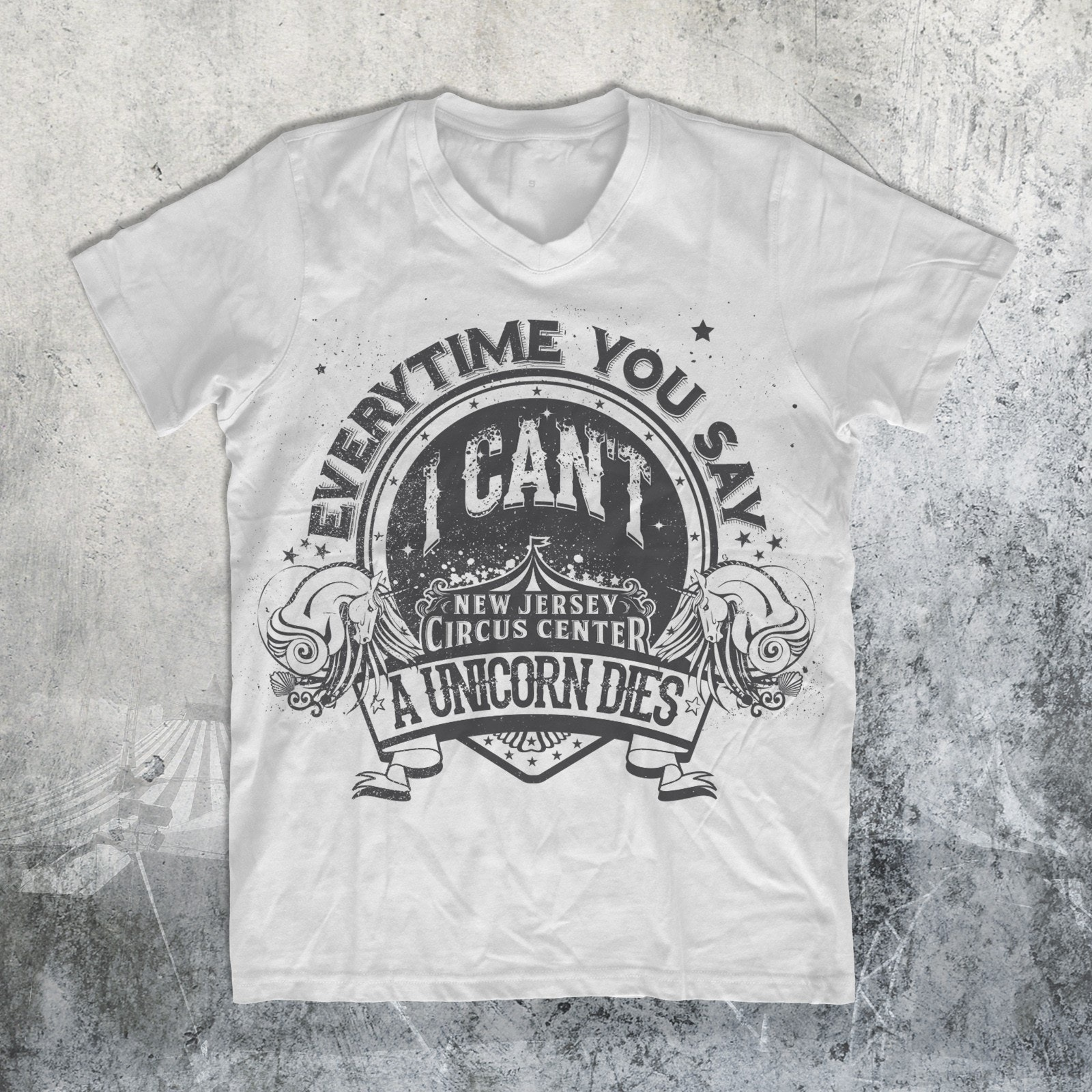 Clown T-shirt design