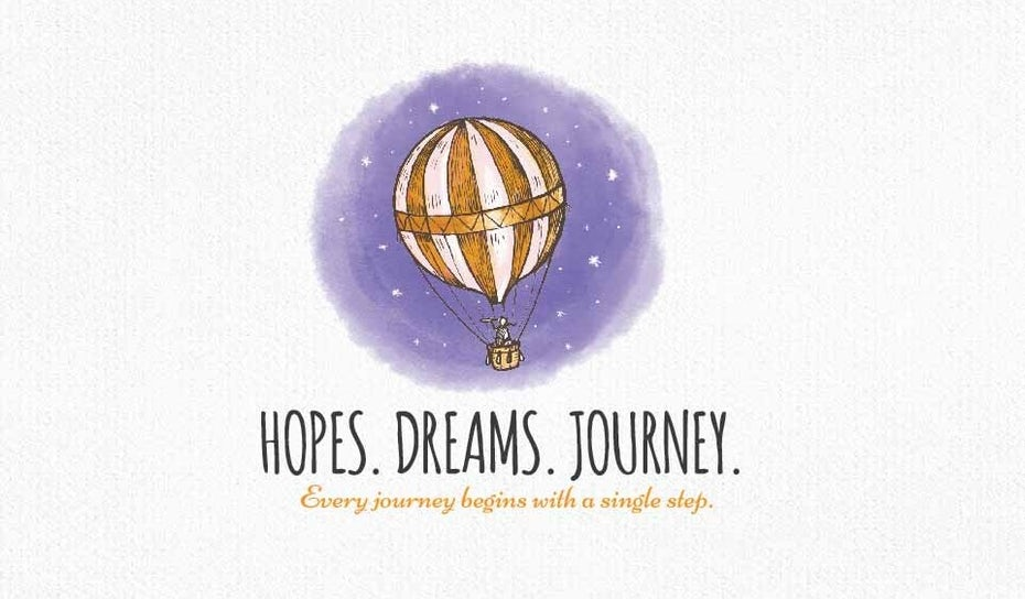 Hopes. Dream. Journey logo