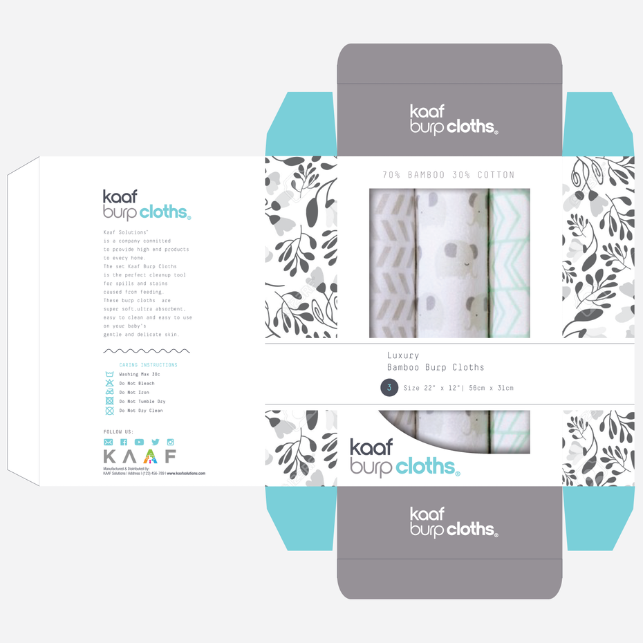types of graphic design example: packaging design