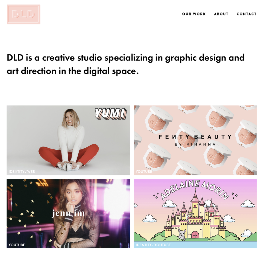 DLD studio website