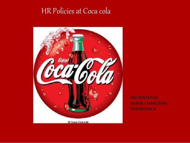 Coca Cola HR Policies