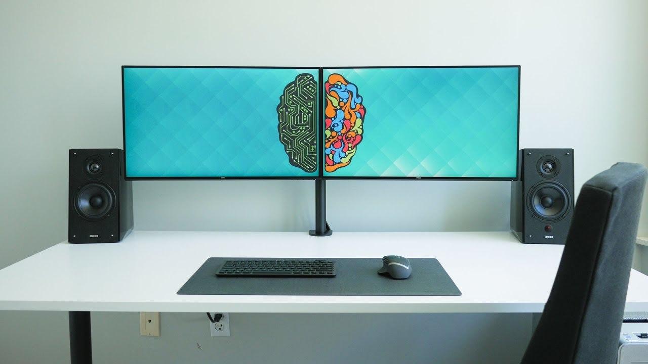 Dual monitor set up