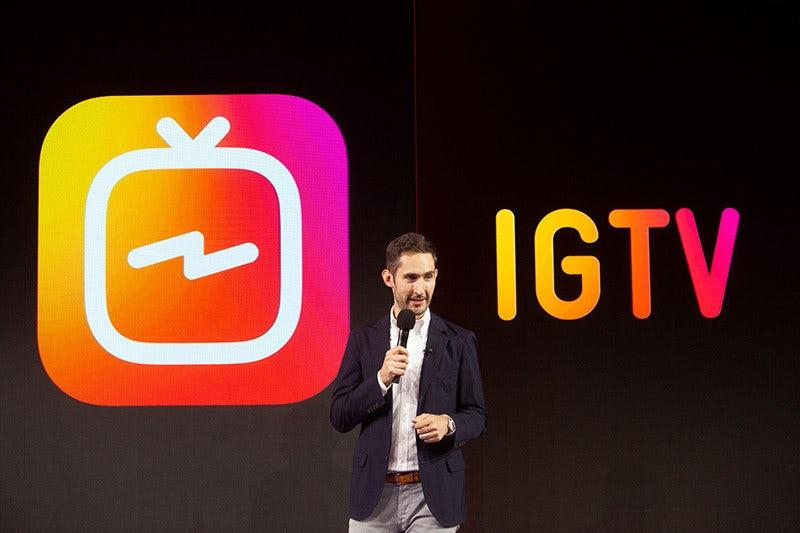 IGTV launch presentation