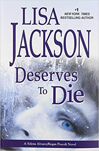 Lisa Jackson Deserves to Die cover design fail