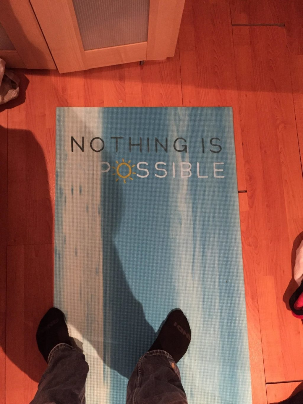 Nothing is possible rug design fail