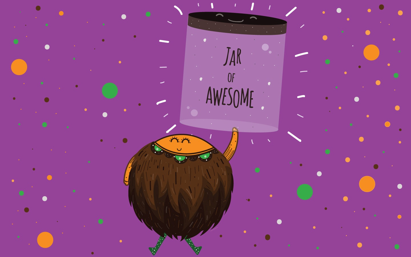 Create a jar of awesome