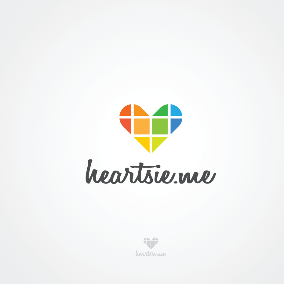 Fun, playful logo for a photo collage app