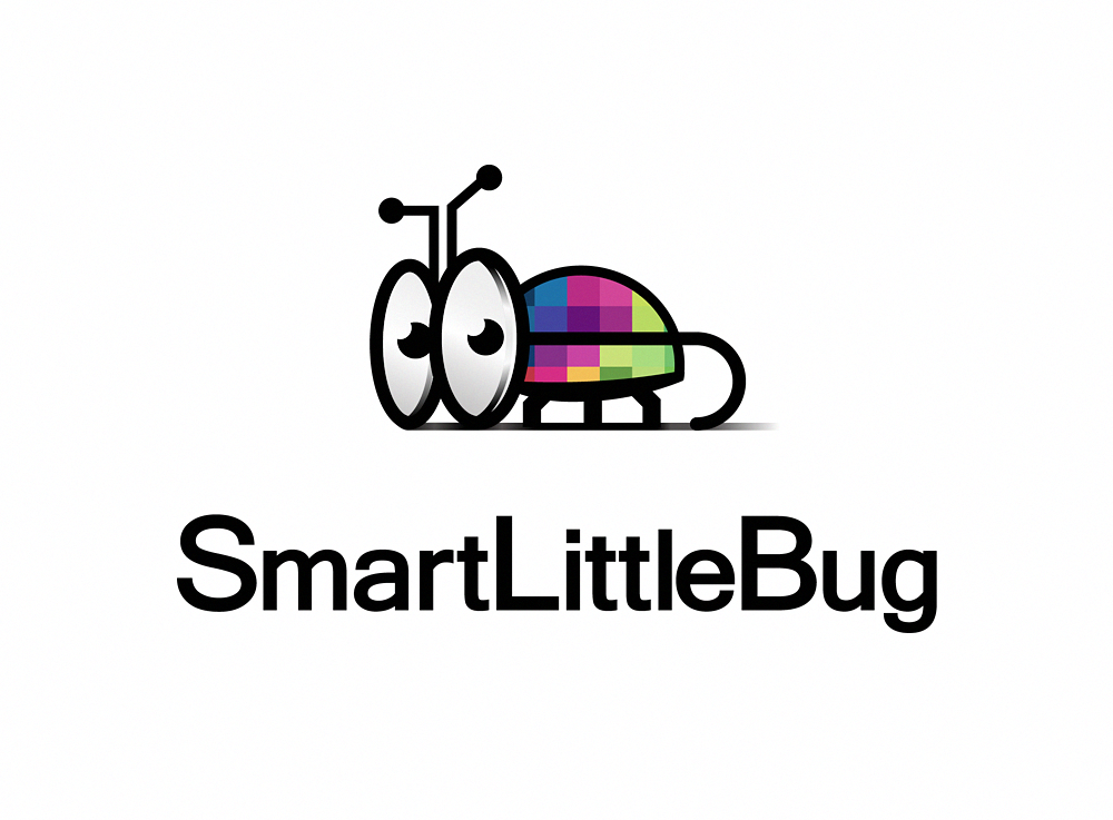 smart little bug logo