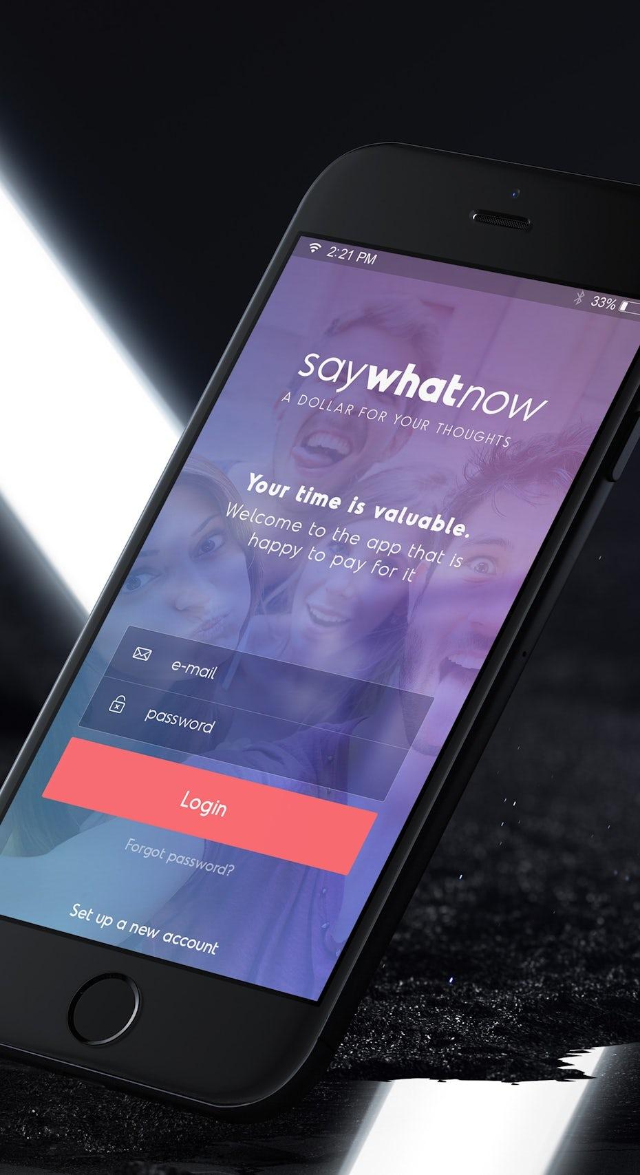 saywhatnow app