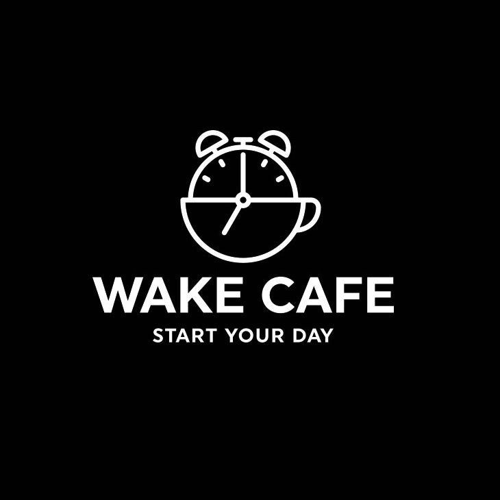 Wake Cafe Logo