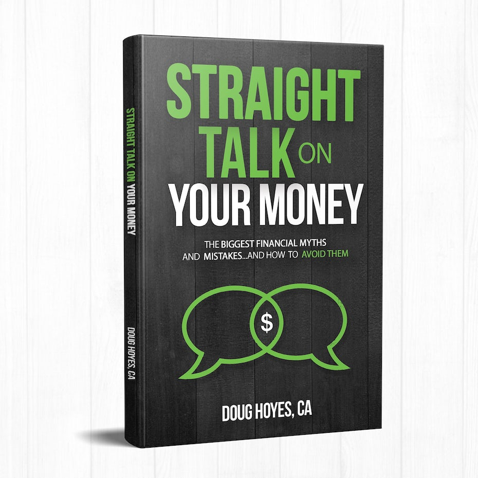 Book cover design for Straight Talk on Your Money by Doug Hoyes