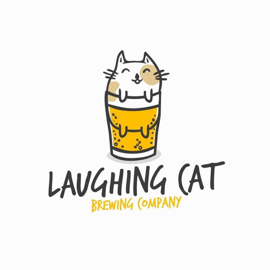 Laughing cat