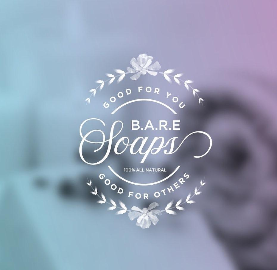 elegant soap logo