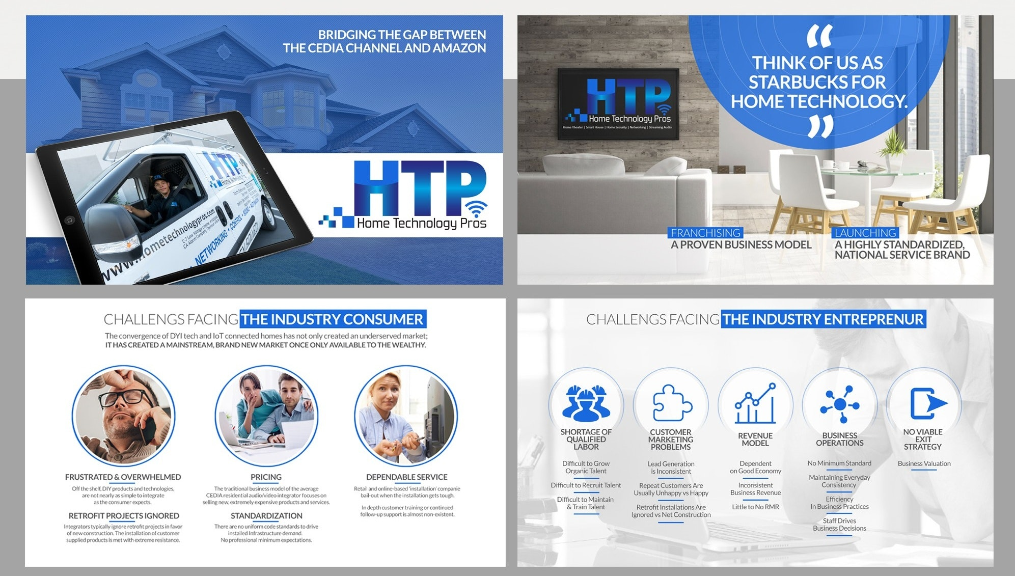 HTP powerpoint template