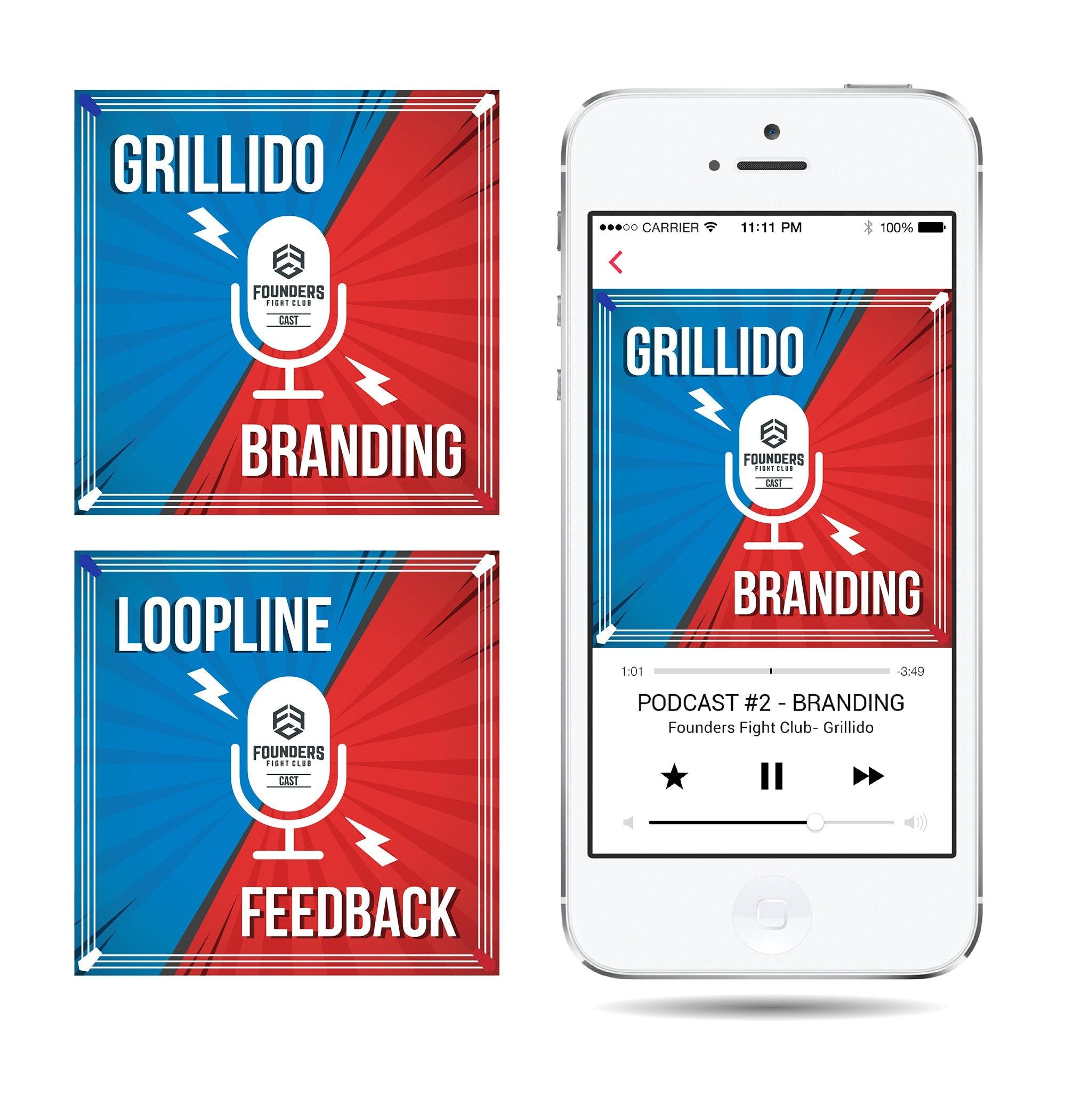 Grillido Branding artwork