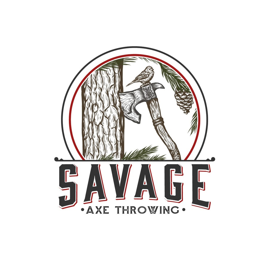 Savage Ax Throwing logo