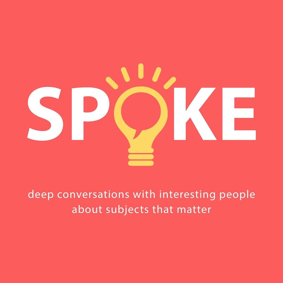 Spoke podcast cover design