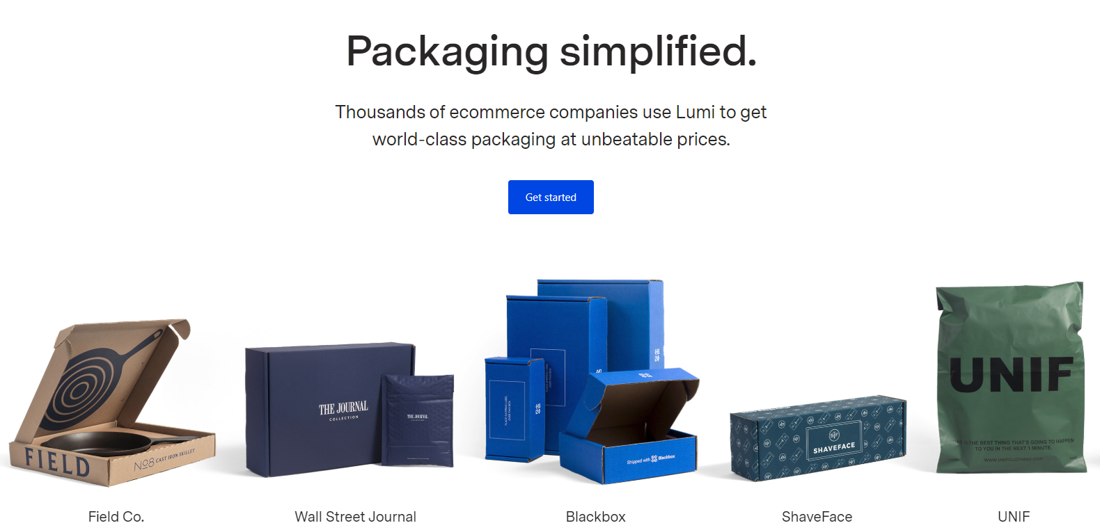 Lumi website