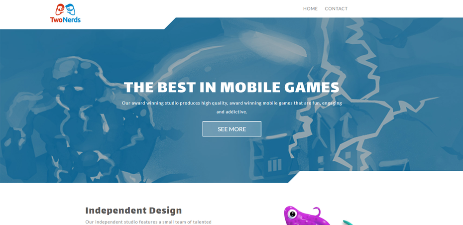 Twonerds website
