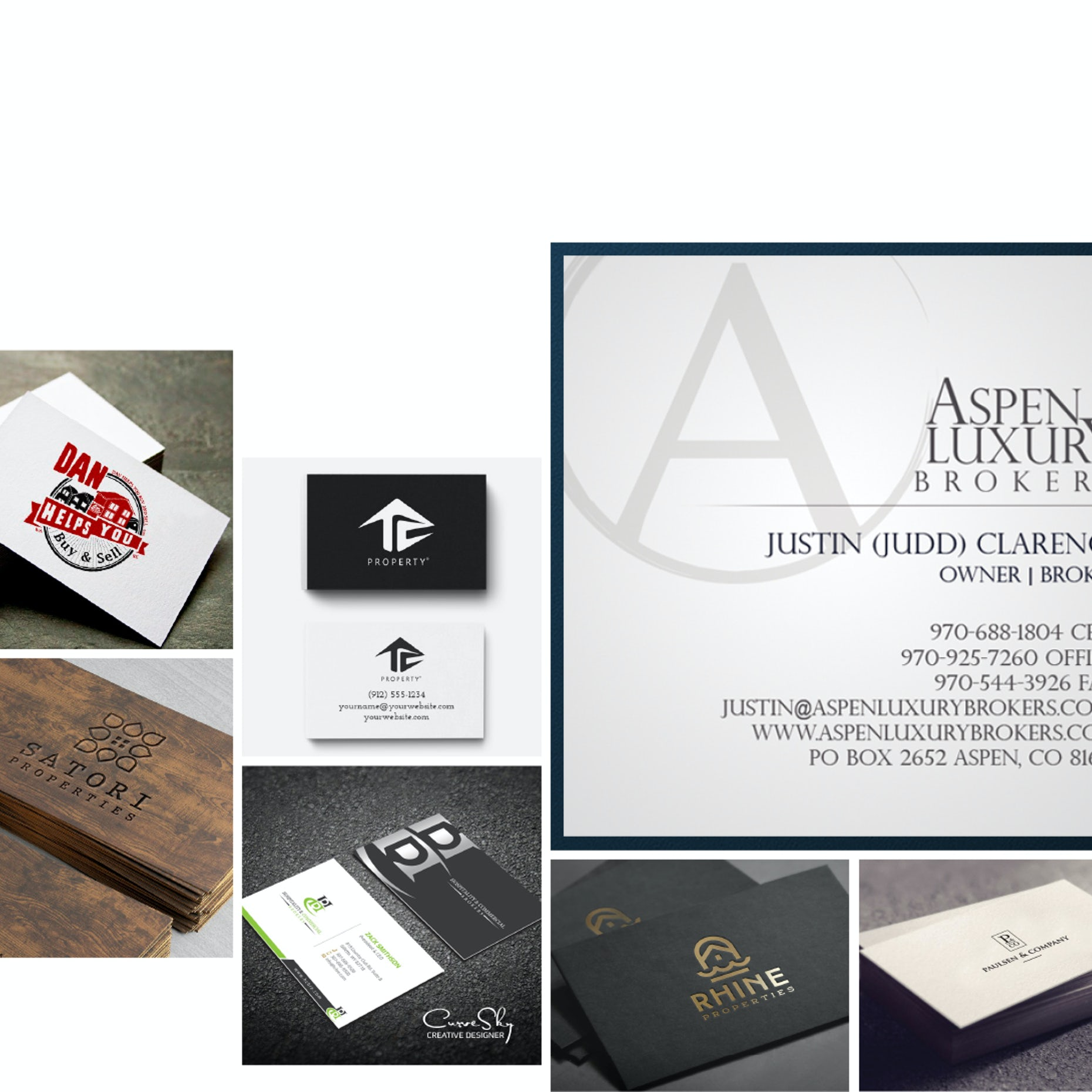 42 Real Estate Business Cards To Help