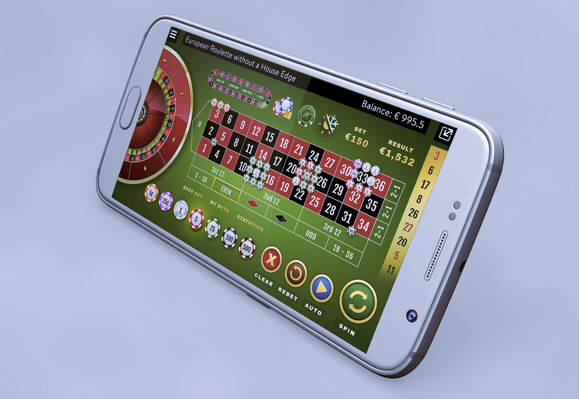 BetVoyager Casino mobile roulette table