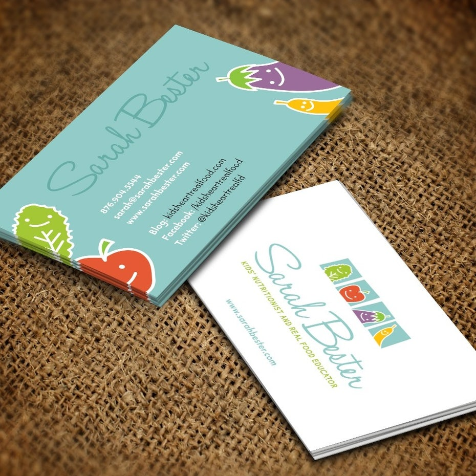 Sarah Bester Business Card