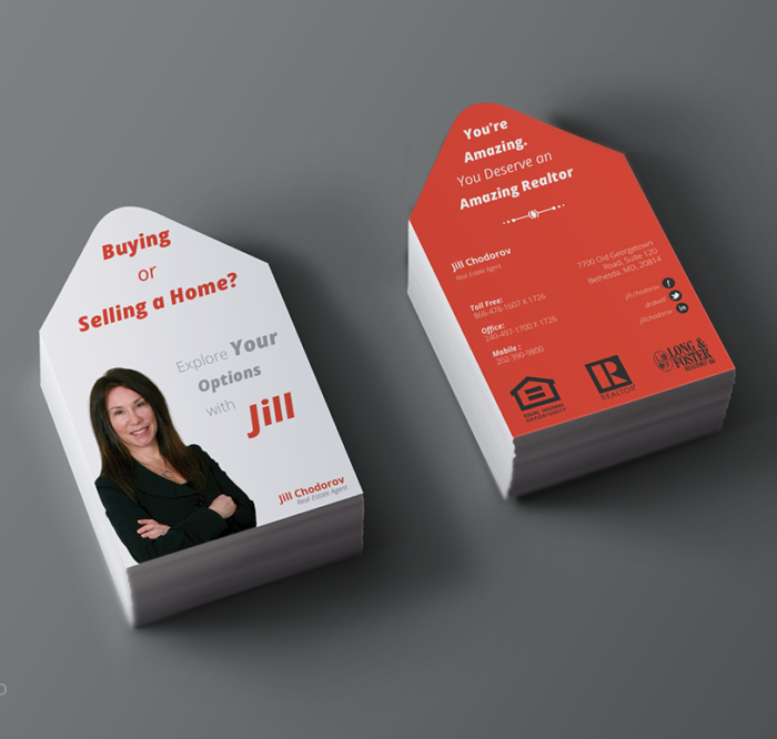 real estate business card design - Real Estate Business Card