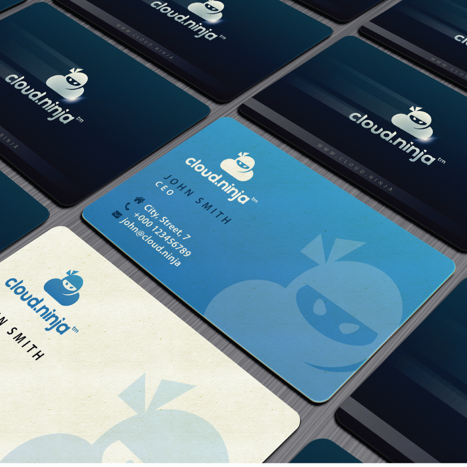 Cloud Ninja business card