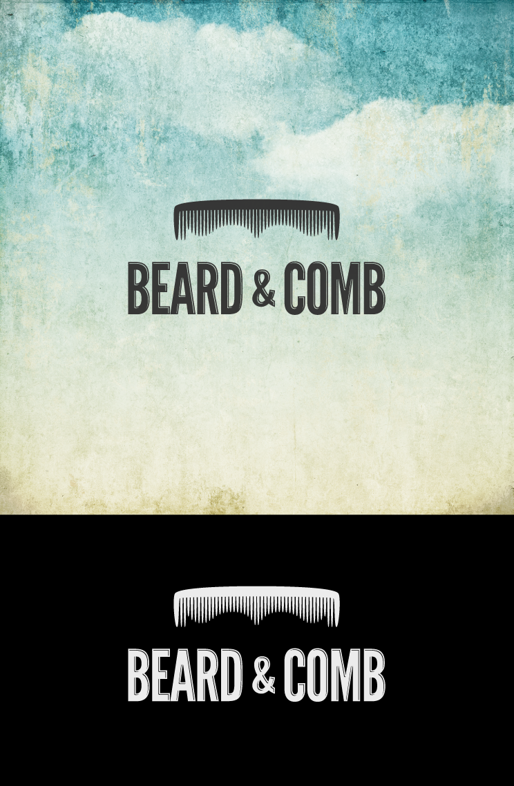 Logo design for Beard and Comb