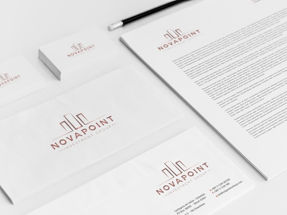 Novapoint Investment business cards