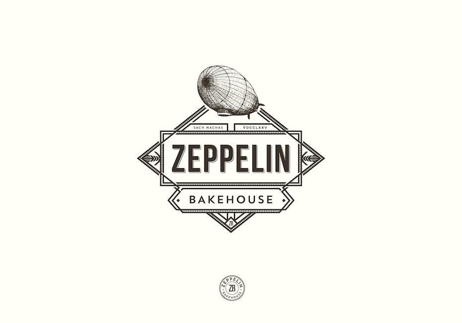 A vintage style logo
