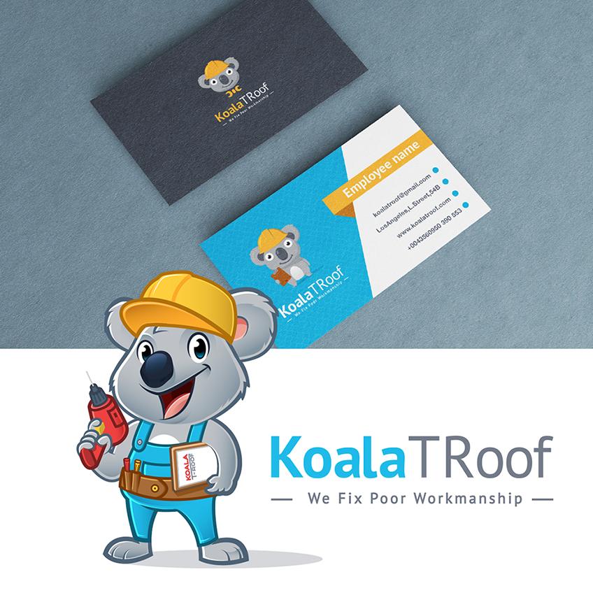 Koala business card