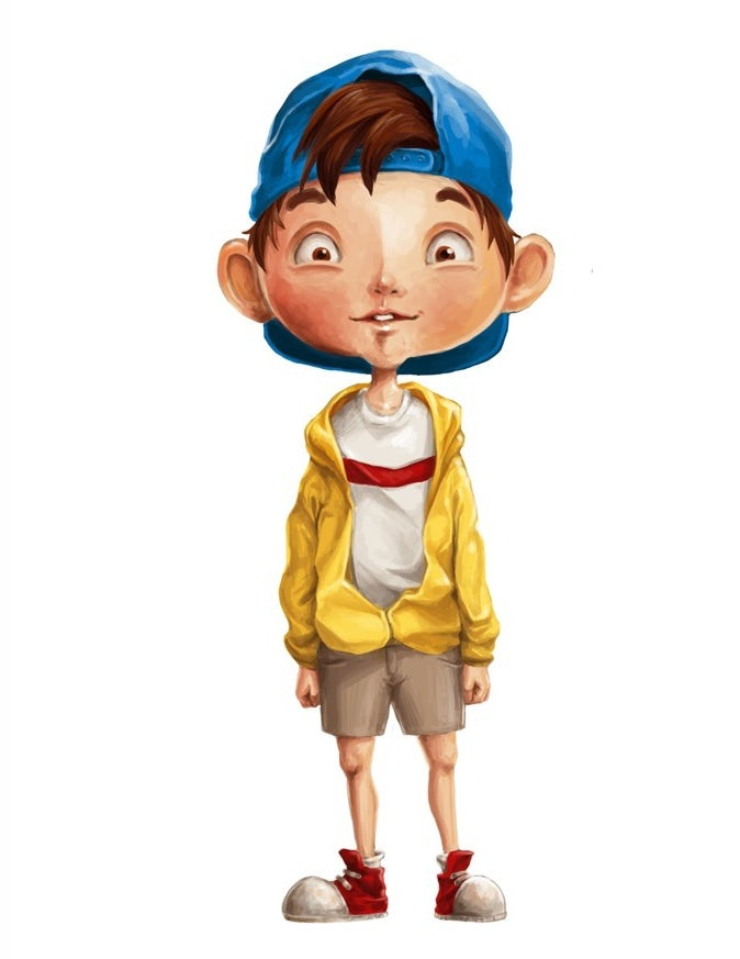 boy character design