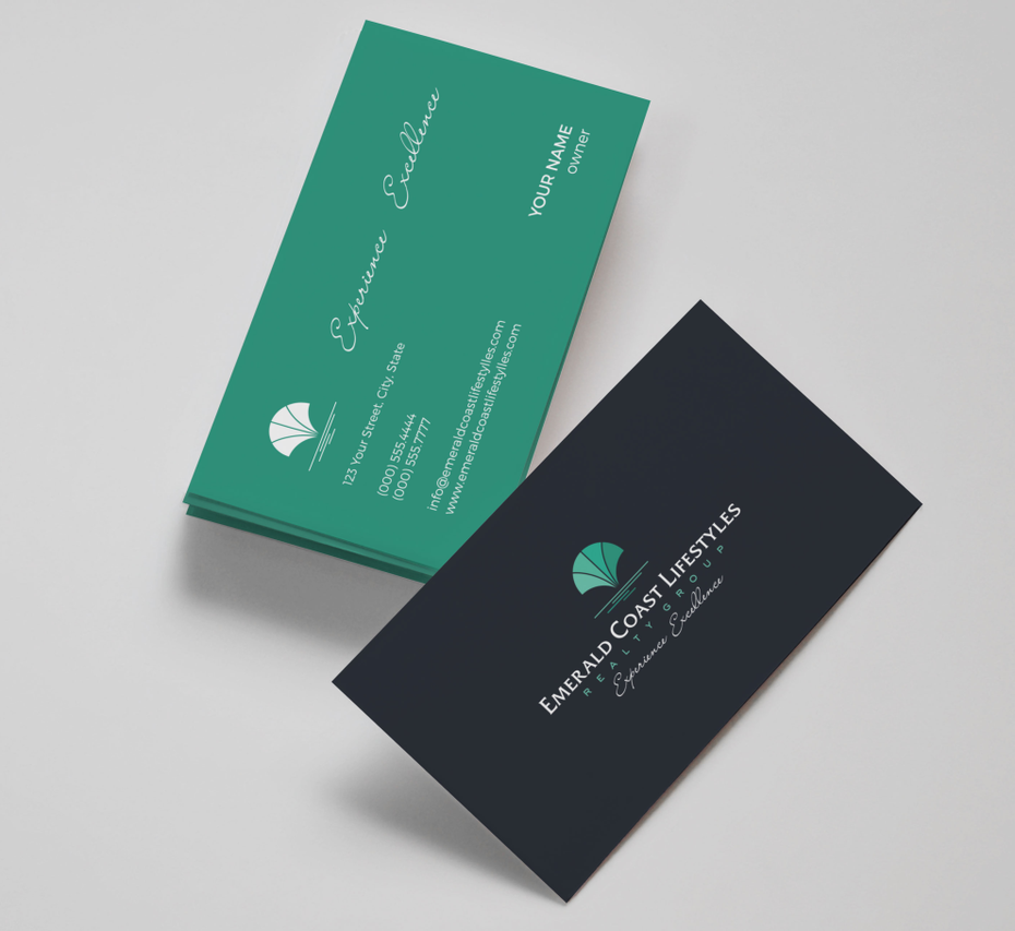 Emerald Coast Lifestyles business card