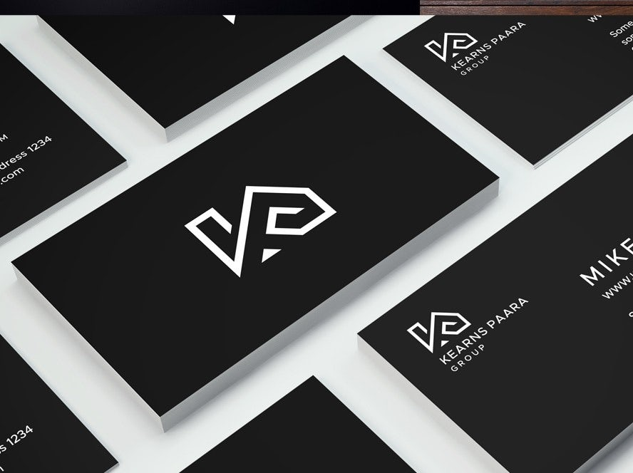 KearnsPaara Group business card