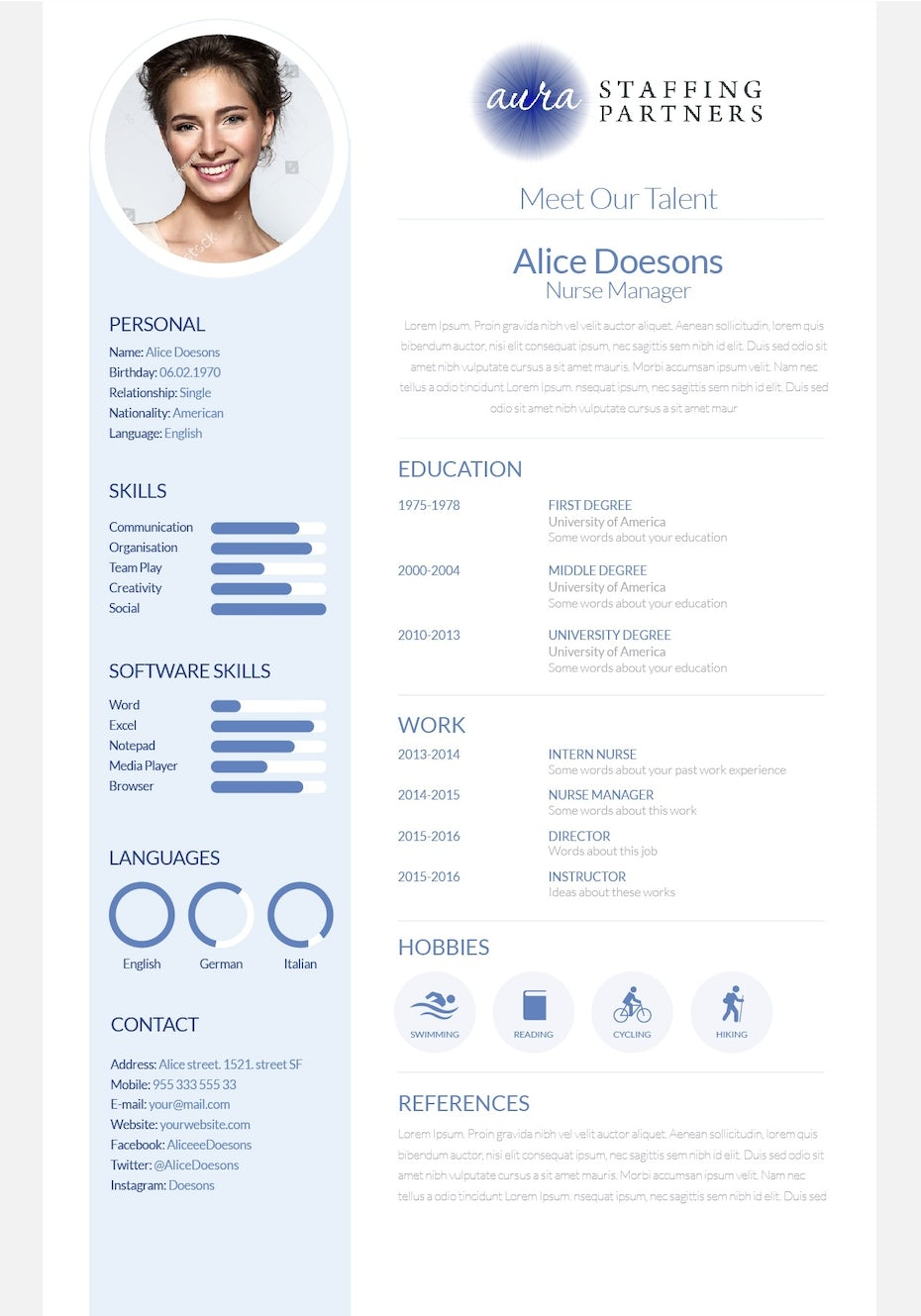 The 10 Best Freelance Resume Designers For Hire In 2021 99designs