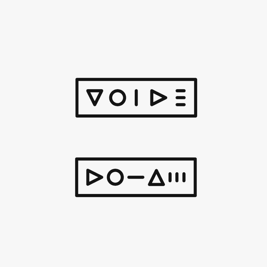 A minimalist logo design
