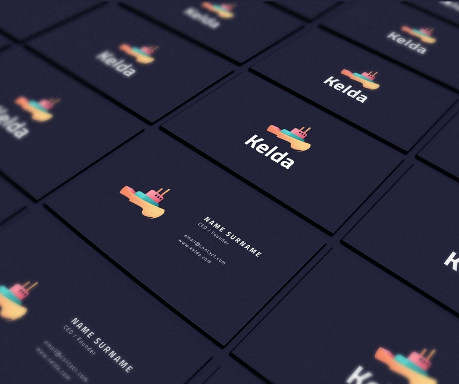 Kelda business card