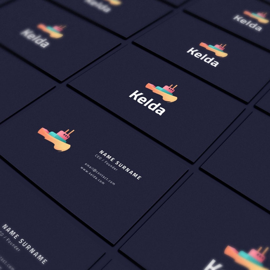 Kelda business card