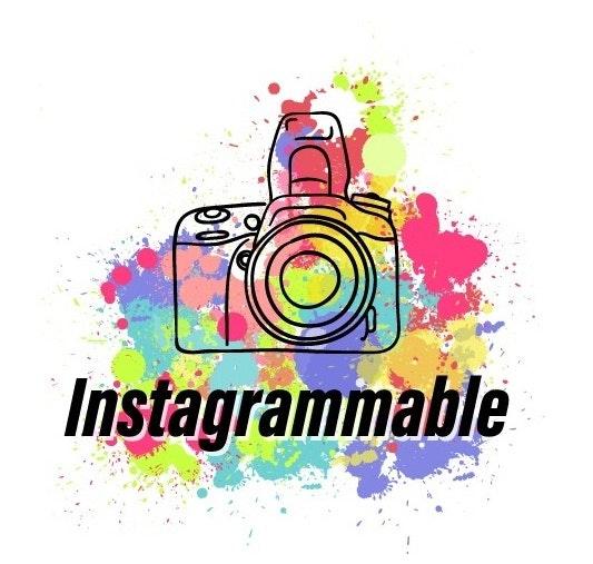 logo design for Instagrammable