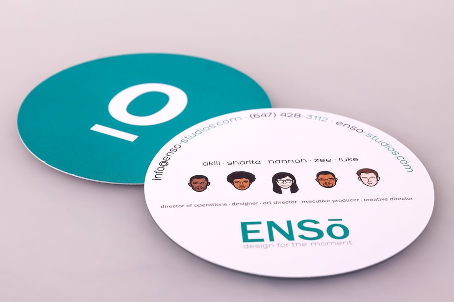 Enso business card