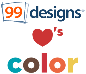 99designs loves color