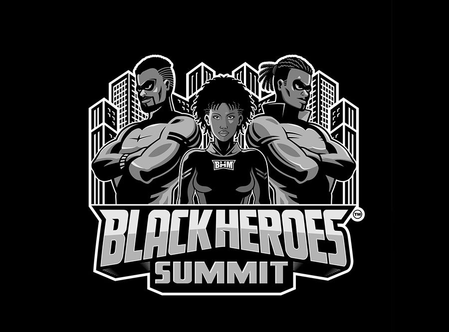 black heroes summit logo