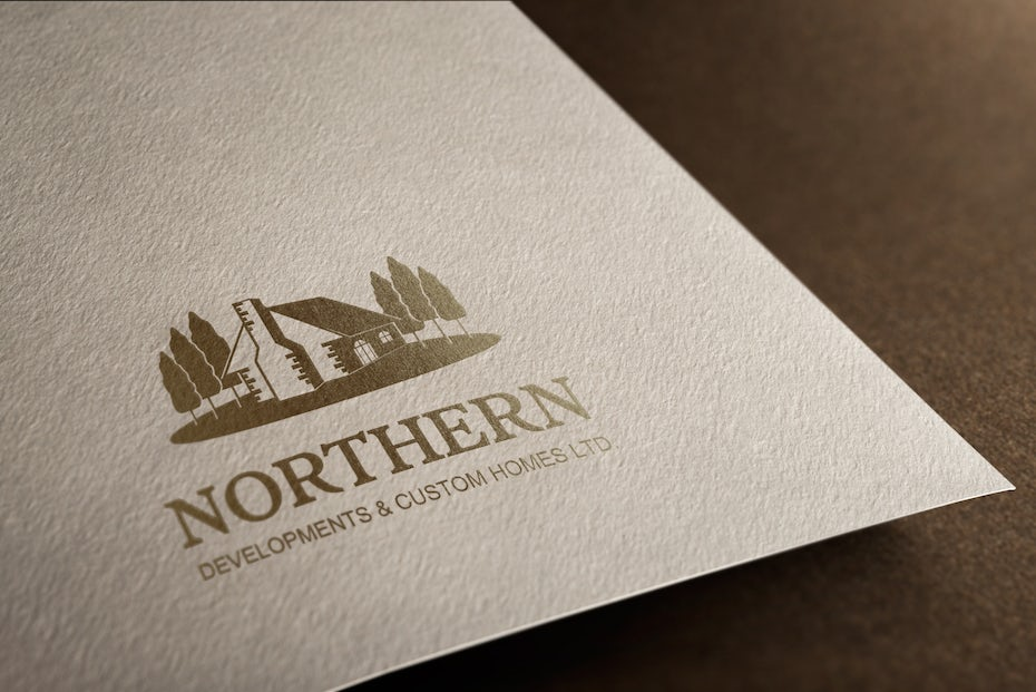 Northern developments and custom homes business card